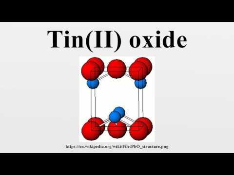 Tin(II) oxide