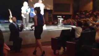 Guy Proposing To Girl At Church In Front Of 2000 People #wedding #proposing #lov