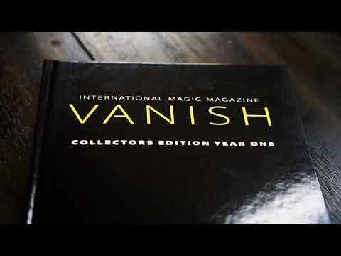 Saturn Magic -VANISH MAGIC MAGAZINE Collectors Edition Year One (Hardcover) by Vanish Magazine - Bo