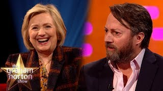 Hillary Clinton Finds David Mitchell's Play School Story Hilarious | The Graham Norton Show