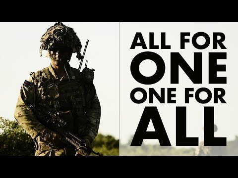 All for one and one for all (Meet NATO's spearhead force)