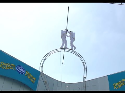 "Ringling Bros. Gravity-Defying Event for ""Out Of This World"" LA Premiere Week"