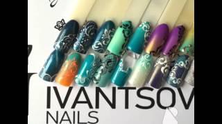 видео Рисунки на ногтях дотсом: простые элементы, выполненные дотсом в маникюре