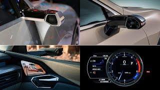 AUDI e-tron VS Lexus ES (DIGITAL SIDE MIRRORS COMPARISON) WHO