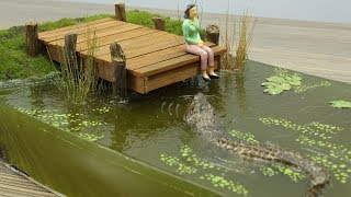 How to Make The Swamp || Crocodile Diorama || Resin Art