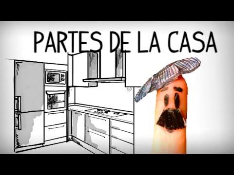 Parts of the house in spanish spanish vocabulary youtube - La casa del ingles ...