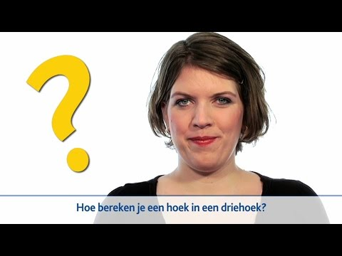 de sinus, cosinus en tangens van een hoek in je Rekenmachine from YouTube · Duration:  9 minutes 8 seconds