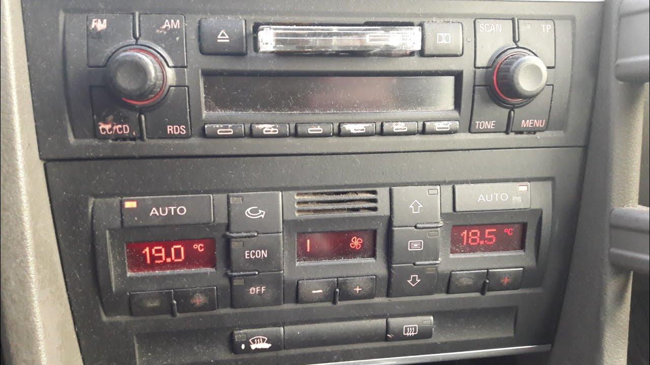 Ogrzewanie Audi A4 B6 Klapy Sterujace Silniczki Krokowe Regulacja