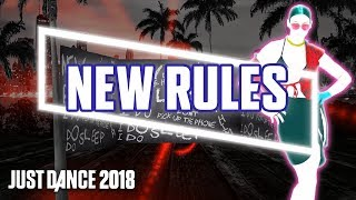 Download Just Dance 2018: New Rules by Dua Lipa | Fanmade Mashup Mp3 and Videos