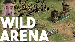 One WILD AoE2 Arena Free For All!