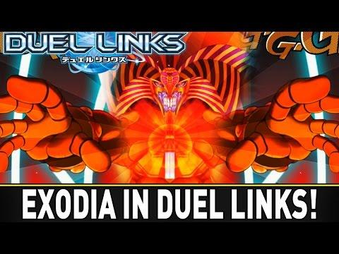 EXODIA IN DUEL LINKS | YuGiOh Duel Links Mobile w/ ShadyPenguinn