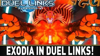EXODIA IN DUEL LINKS | YuGiOh Duel Links Mobile w/ ShadyPenguinn