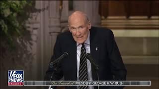 George H.W. Bush Funeral Loyalty