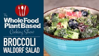 Vegan Broccoli Waldorf Salad Recipe