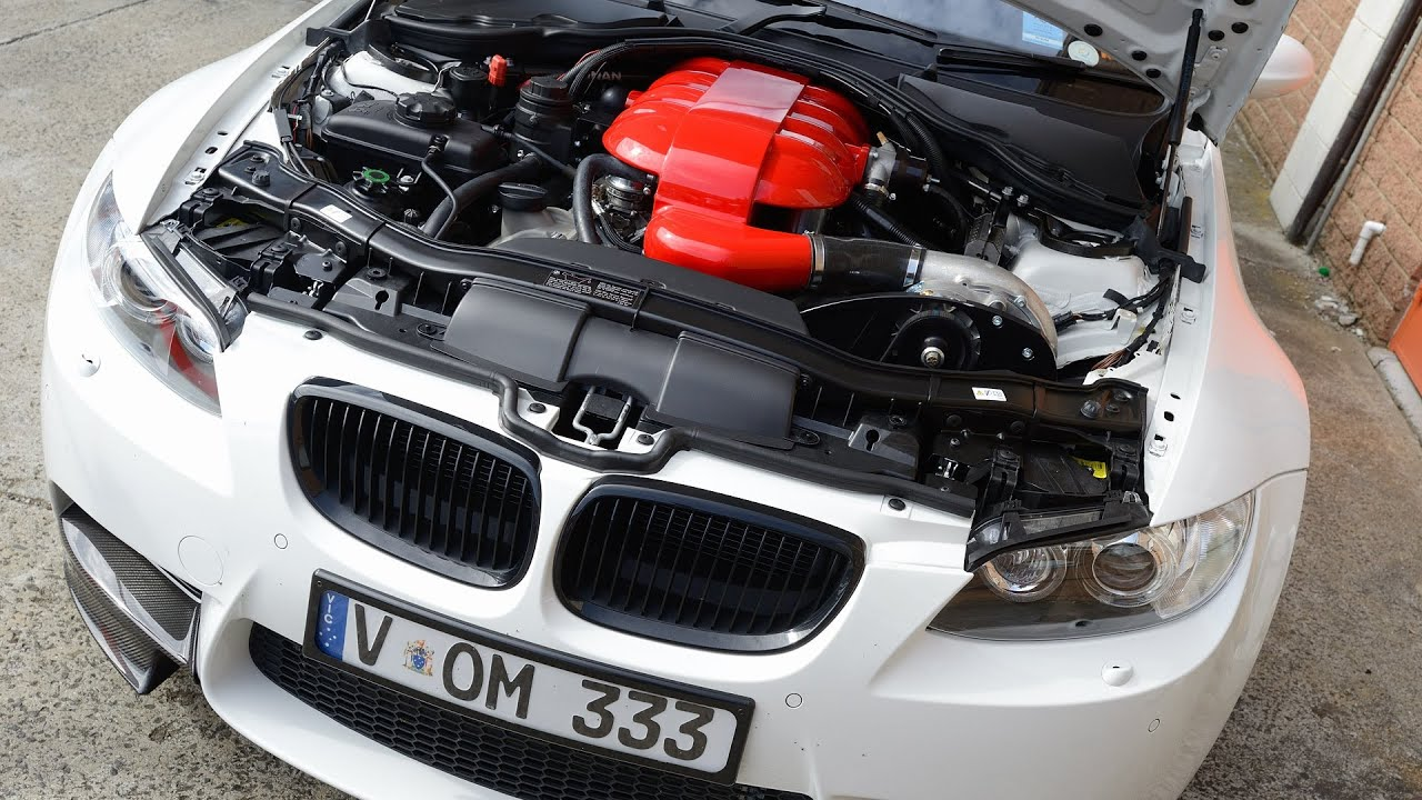 Bmw M3 Supercharged V8 Youtube