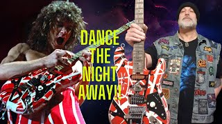 How to play Van Halen Dance the Night Away on guitar