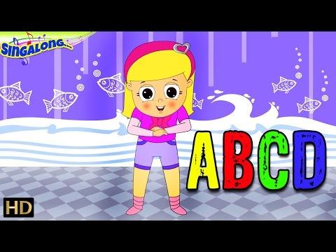 ABCD HD   Learn Alphabets  Pop Rock Music Style  Nursery Rhymes  Popular Kids Songs