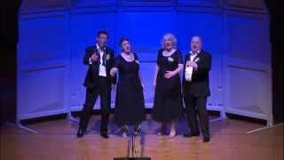 Jigsaw Mixed Quartet singing The Way You Look Tonight