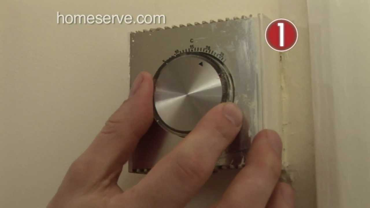 Diagnose Central Heating Problems Homeserve Top Tip Youtube Wiring 2 Baseboard Heaters One Thermostat