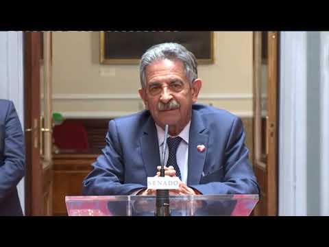 Comparecencia de Miguel Ángel Revilla para valorar la Comisión celebrada  en el Senado