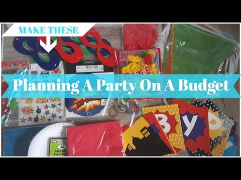 LIVE!: Kids Children's Birthday Party on a budget | superhero themed | With Becca Boo
