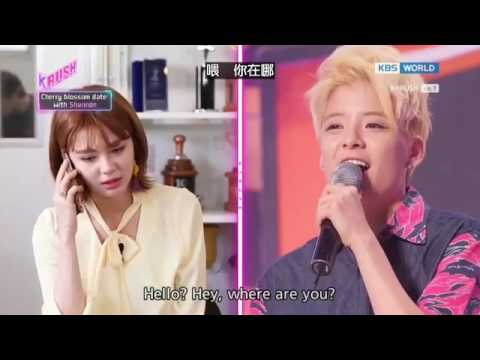 [KBS World Idol Show ]Shannon call out to Amber - YouTube