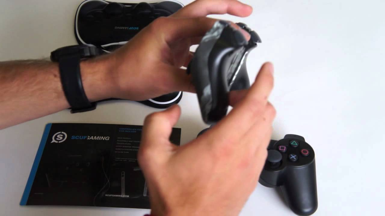 SCUF Hypersensitive Triggers Function (PS3) Explained