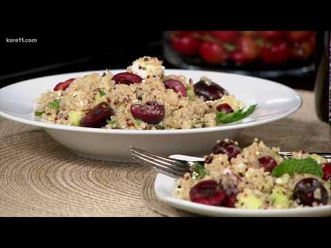 Cherry-Quinoa Salad