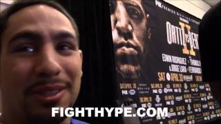 DANNY GARCIA ON CONVERSATION WITH FLOYD MAYWEATHER IN MIAMI: