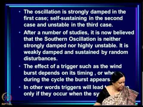 Mod-11 Lec-28 El Nino Southern Oscillation (ENSO) Part 5