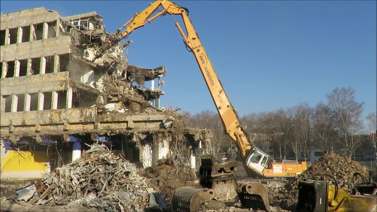 Excavator Liebherr 974 and CAT 390