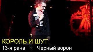 Обложка КОРОЛЬ И ШУТ 13 рана Черный ворон Arena Moscow 25 12 2011
