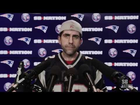 Patriots Fan FITZY DeflateGate Press Conference
