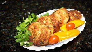 Вкусные рыбные котлеты из трех сортов рыбы