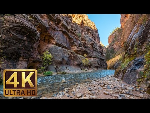 4K TV Screensaver & Beautiful Relaxing Music - Zion National Park. Episode 2 - 1 Hour