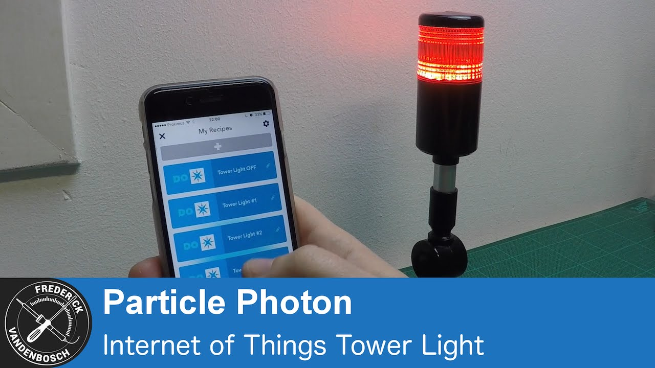 Modifying a simple 12V Tower Light into a 5V IoT Light