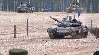 Танковый биатлон - клип