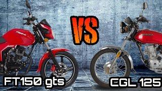 FT150gts vs CGL125/ Italika vs Honda/ FT150 gts Review/ CGL125Review