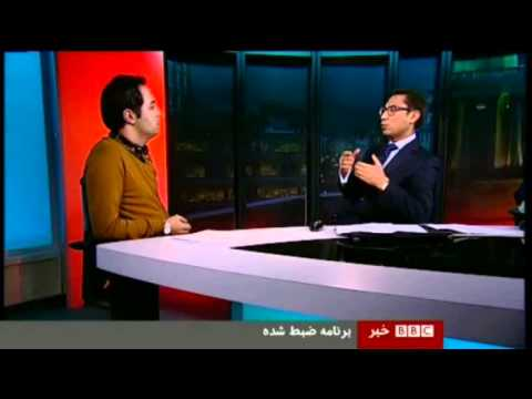 شصت دقیقه , بورس Alireza Salavati Discussing Tehran Tehran Stock Exchange in BBC Sixty Minutes