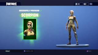 *NEW* SCORPION SKIN: Fortnite Item Shop Today (28th August)