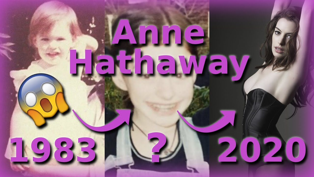 Download Anne Hathaway Then and Now (1983 - 2020) | Fantine, Catwoman, Kym, Emma Allan, ... *Rare*