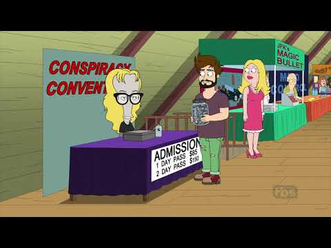 American Dad - Conspiracy Convention