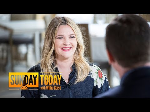Drew Barrymore Leans On Positive Lessons When Faced With Adversity | Sunday TODAY