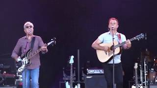 10CC playing their hit I'm Not In Love at the Nostalgie Beach Festi...