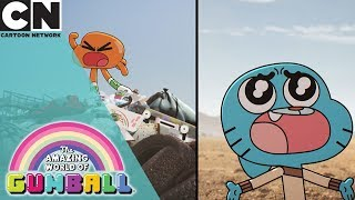 The Amazing World of Gumball | The Silence Song | Cartoon Network UK 🇬🇧