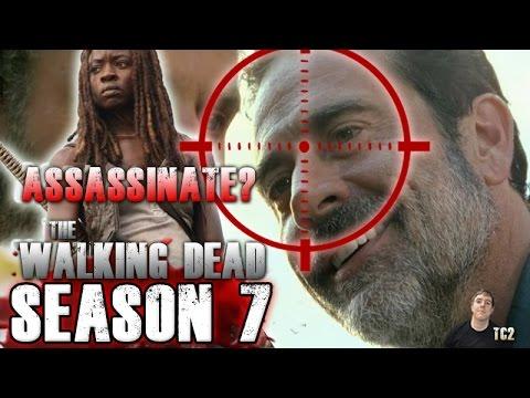 The Walking Dead Season 7 Episode 4 Service - Assassinate Negan?