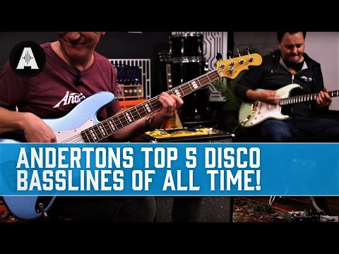 The Top 5 Disco Basslines of All Time!
