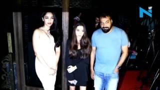 Anurag Kashyap Brings His Daughter To Raman Raghav Promotions