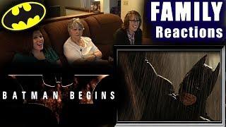 BATMAN BEGINS   FAMILY Reactions   Fair Use