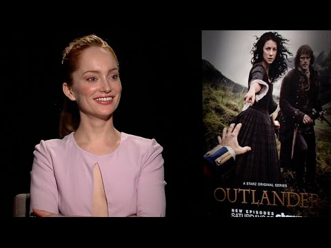 OUTLANDER: Lotte Verbeek Talks Geillis' Big Reveal and Naming Costumes